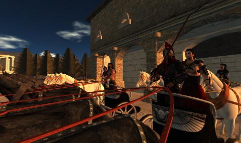 chariot racing kasra fayeen