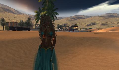 Oasis of Sand Sleen