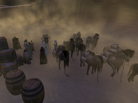 march to oasis of Klima